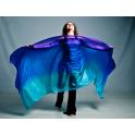 Violet turquoise bleu