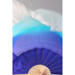 Bleu turquoise blanc