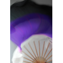 Blanc violet noir