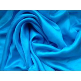 Voile en soie turquoise