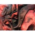 Voile Tie & Dye rouge bordeaux