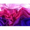 Voile violet rose rose tendre